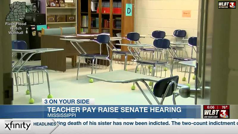 Senate Education Committee holds teacher pay hearing