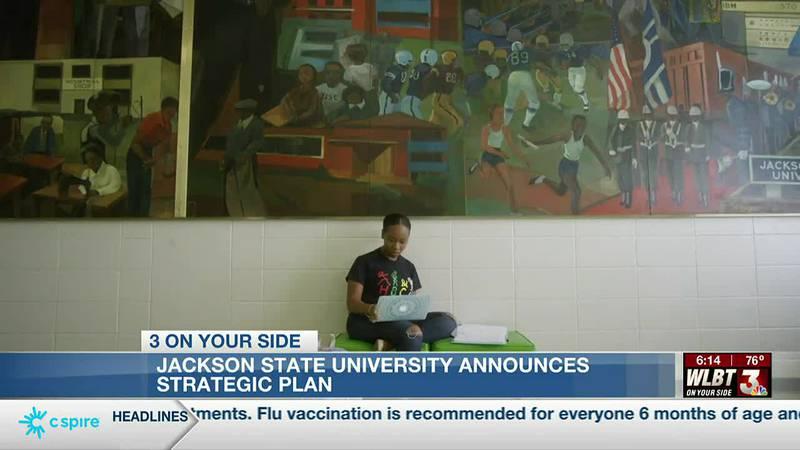 Jackson State University announces six-goal strategic plan, 'Elevate'