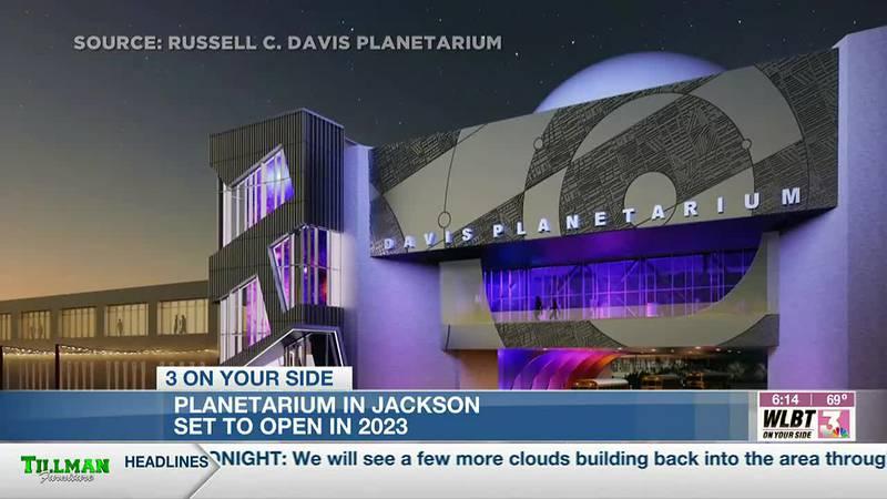 Russell C. Davis Planetarium in Jackson to reopen in 2023