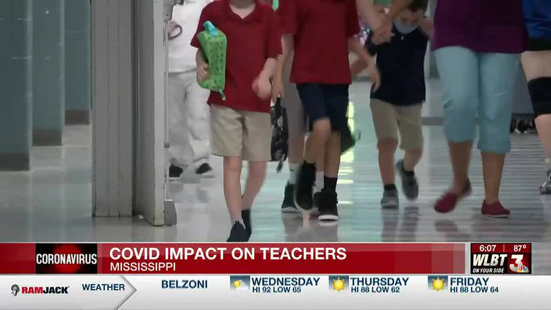 How COVID is impacting Mississippi teachers