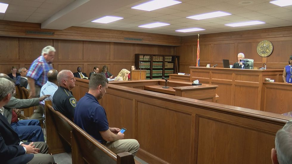 A Hinds County Chancery Judge is not making an immediate ruling in a case involving mandated...