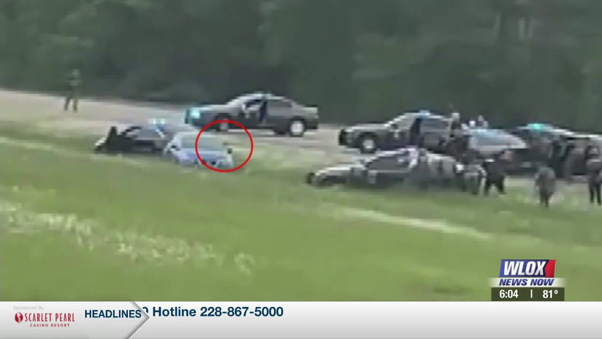 Did Monday's double homicide suspect pull a gun on police before they opened fire on I-10? The...