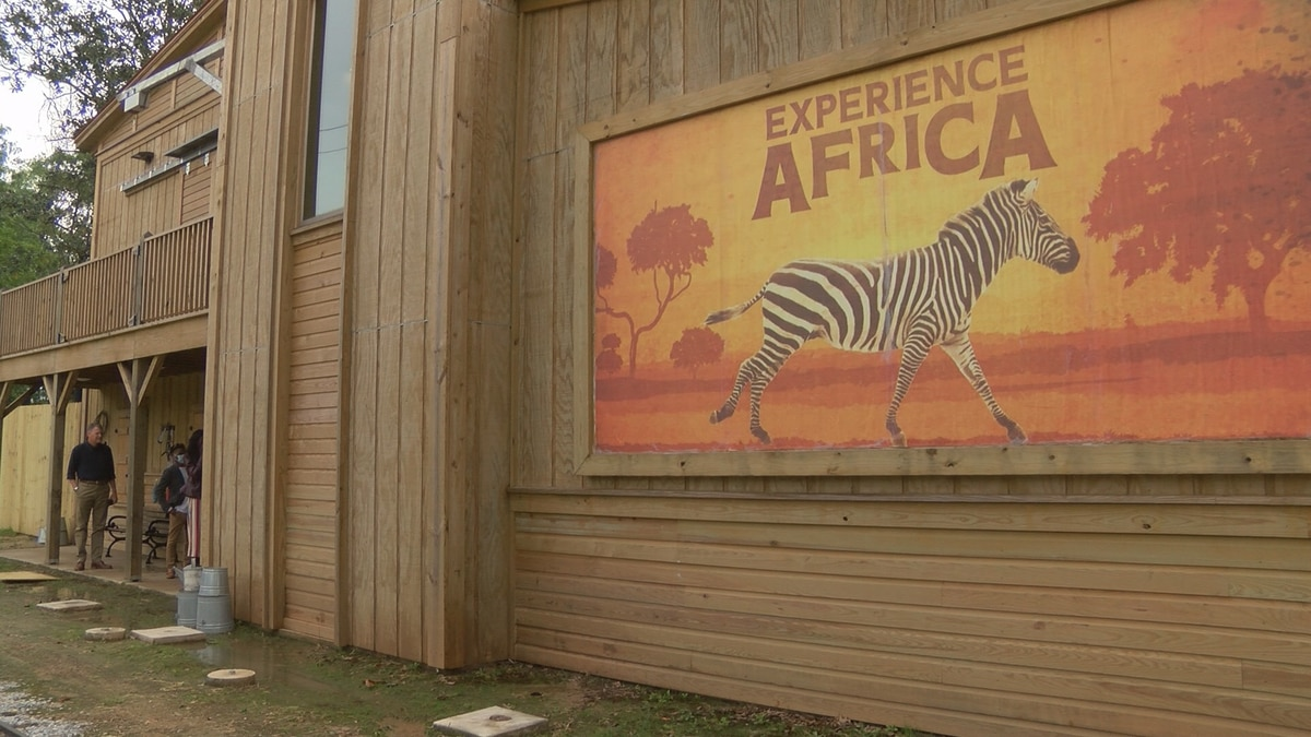 An expanded Africa exhibit featuring two new giraffes will open on May 15.