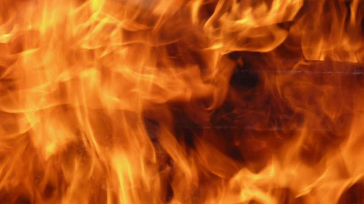 A mobile home fire Sunday morning has left two people displaced in Allenhurst.