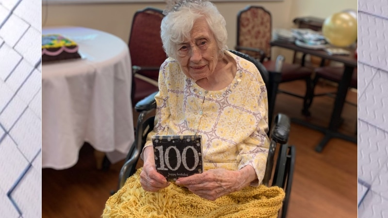 Miss Marie Hughes turned 100 Tuesday.