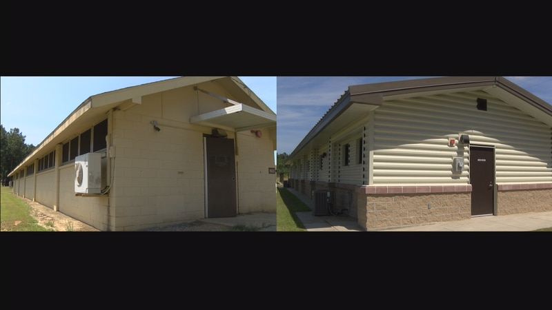 Dozens of barracks at Camp Shelby are being renovated at a cost of $22 million. An original...