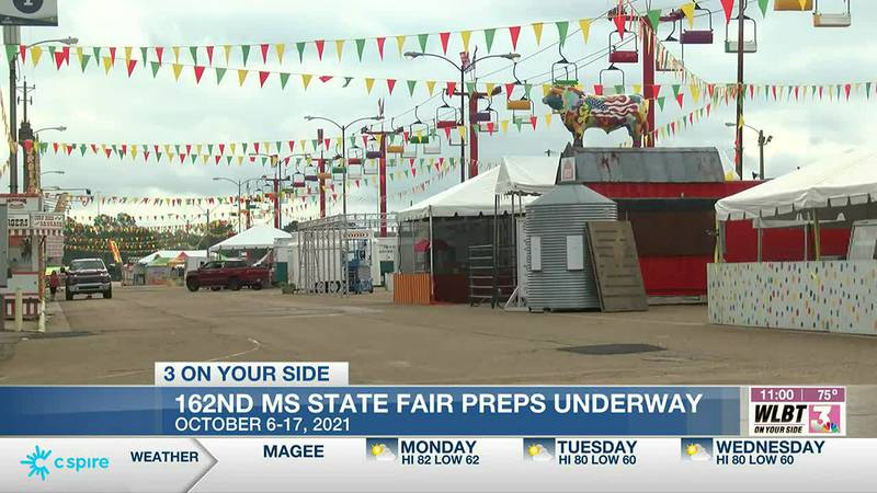 Mississippi State Fair set to open Wednesday