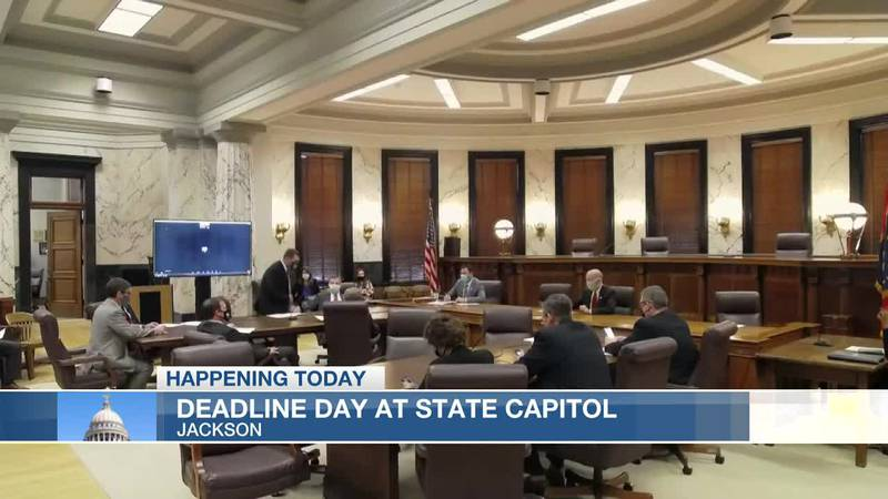 Deadline Day at Miss. capitol, bills under review