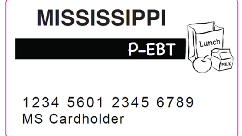 Mississippi P-EBT card