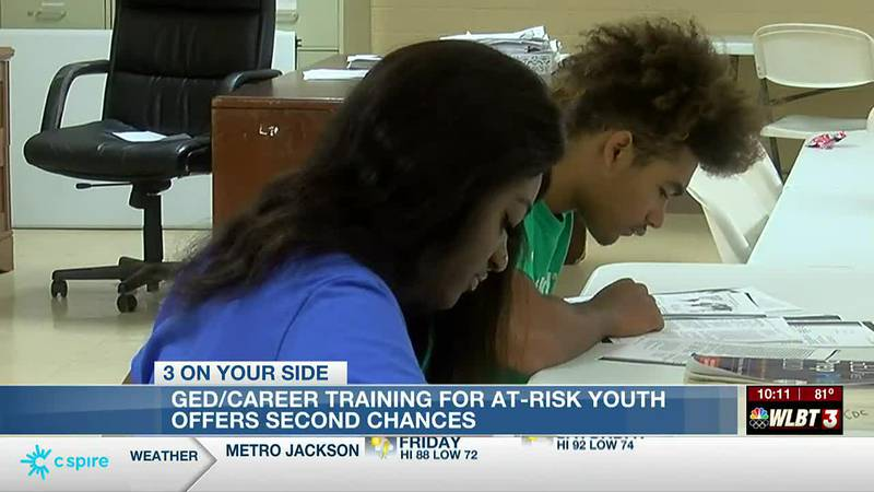 GED and job training offer at-risk youth a second chance at success