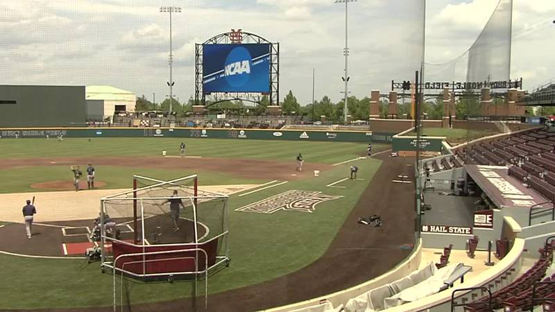 The Southern baseball team practiced at Dudy Noble Field on May 30, 2019.