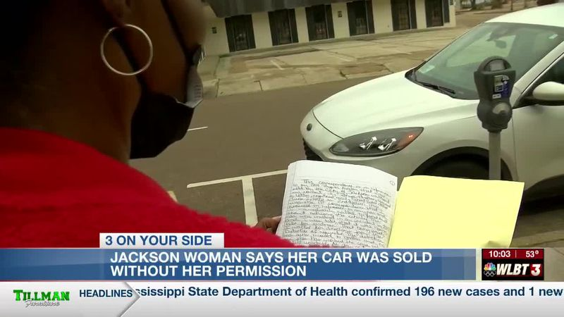 A Jackson resident is demanding answers after she said the police department improperly sold...