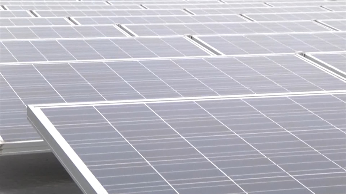 (FILE) Solar panels