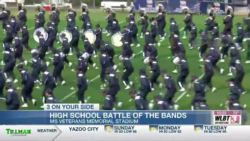 Hundreds attend Battle of the Bands in Jackson