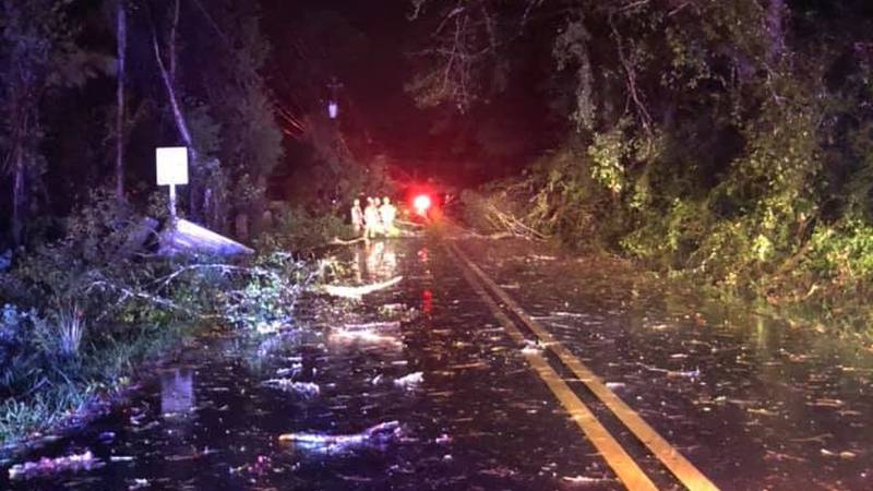 The tornado was reported around 6:56 p.m., 8 miles northeast of Picayune, moving northeast at...