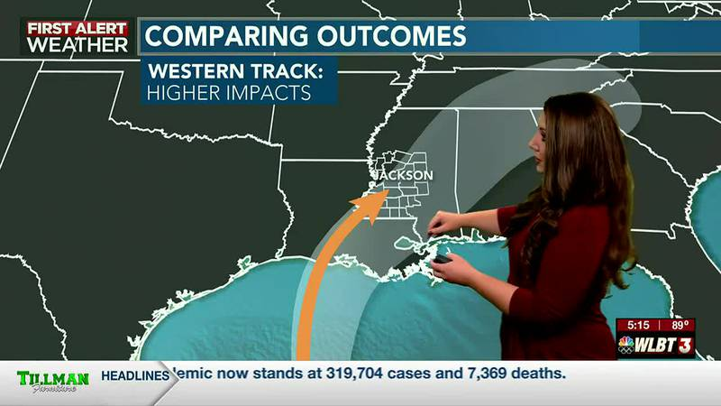 Tropical impacts remain possible this weekend!