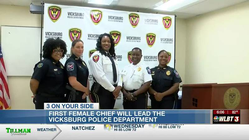'I do feel like a history maker': Penny Jones becomes first female police chief in Vicksburg