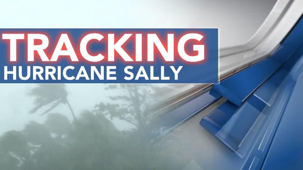 Hurricane Sally To Approach The Gulf Coast Through Tuesday into Wednesday