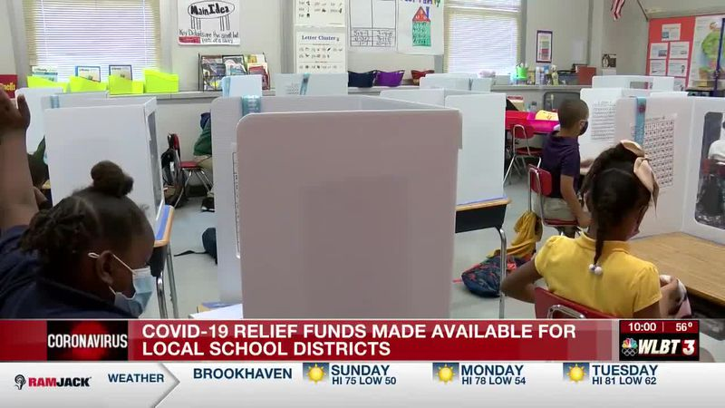 Local school districts receive federal dollars from American Rescue Plan