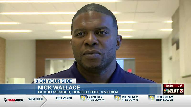 Hunger Free America CEO stops in Jackson as part of journey across the country, spreading...
