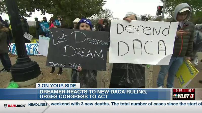 Dreamers react to new DACA ruling, urge Congress to take action