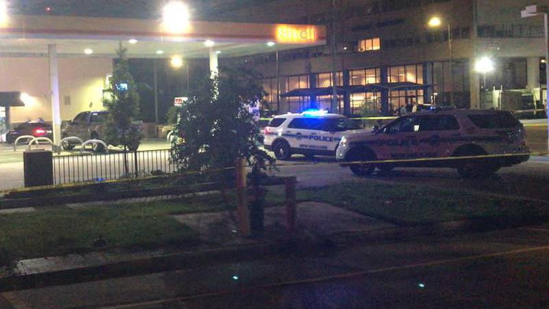 An NOPD officer was shot Thursday in the 3700 block of Tulane Avenue