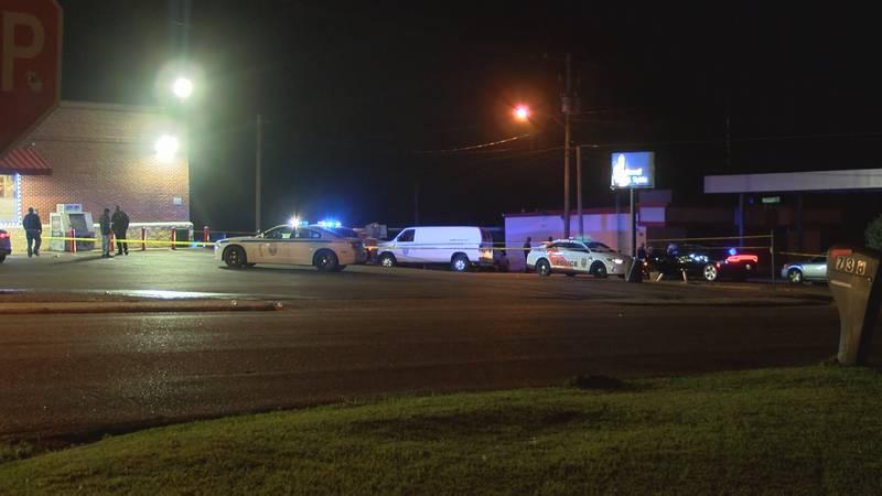 Man shot and killed on corner of McDowell Road and Woodbine Street.