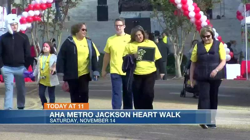 A virtual heart walk is slated, due to COVID-19.