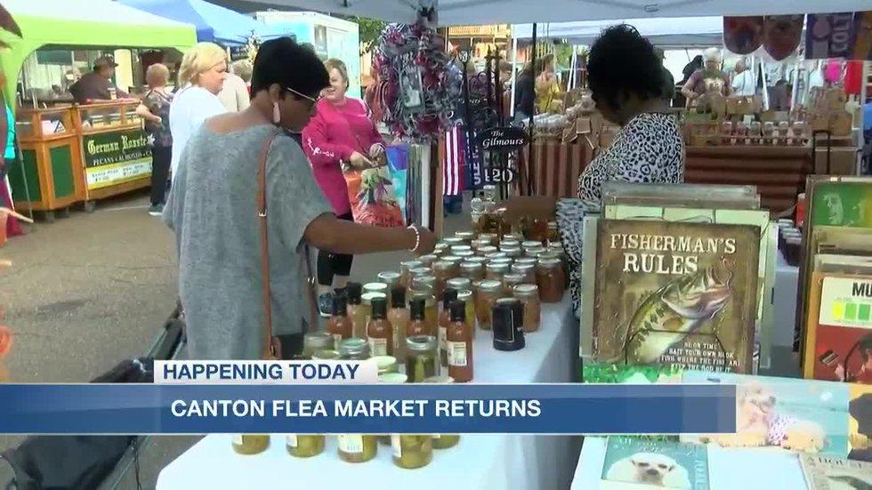 Canton Flea Market returns