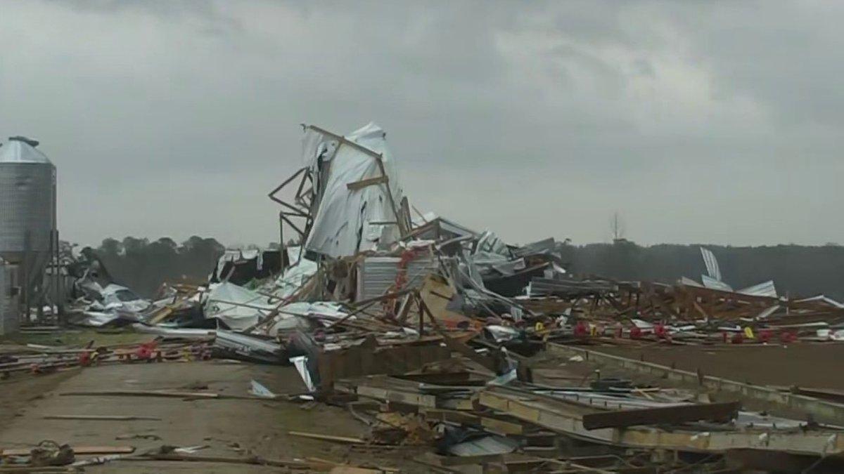 Wayne Co. damage