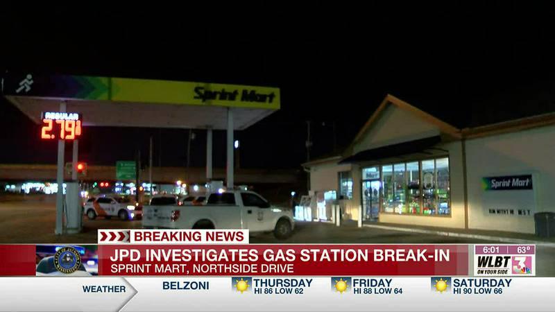 JPD investigates break-in at gas station