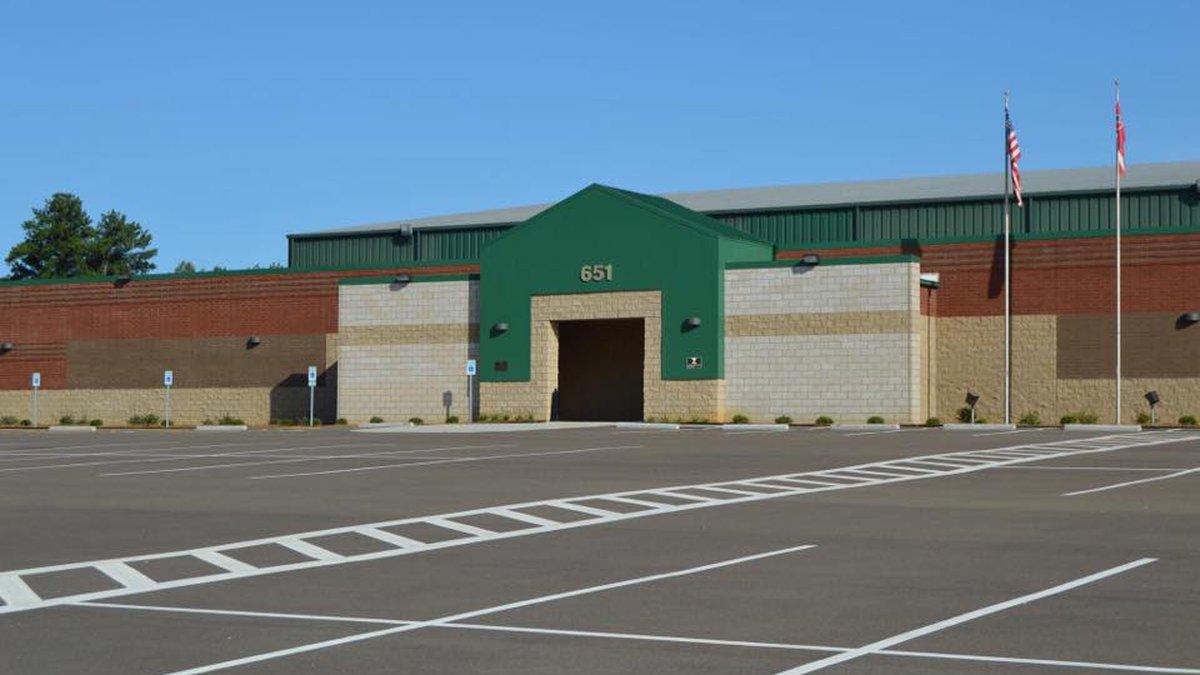 Rankin County safe room; Source: Rankin Co. Fbook
