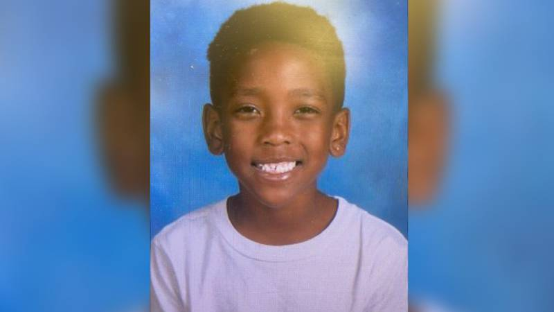 Police say 7-year-old Zakylen Greylen Harris's mother was driving when someone shot into the...