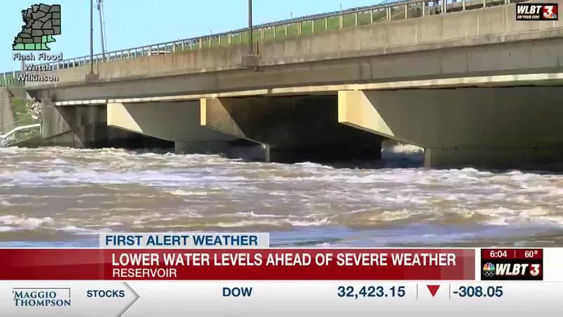 Barnett Reservoir managers prep for severe weather