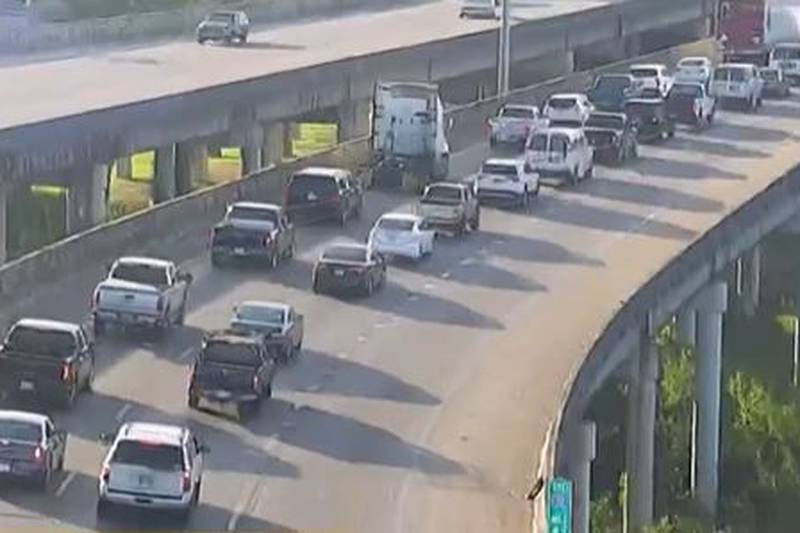 Crash on I-20 delaying traffic through I-55 and McDowell Road Ext.