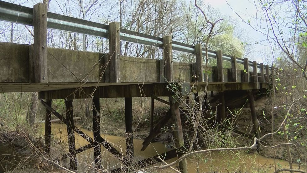 Many of the bridges are not deemed safe to travel because of infrastructure problems like...