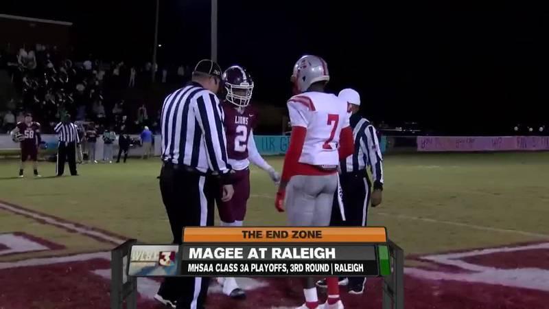 Magee shutouts Raleigh, stays unbeaten