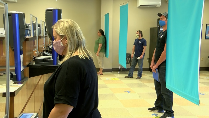Lines at Mississippi driver's license offices