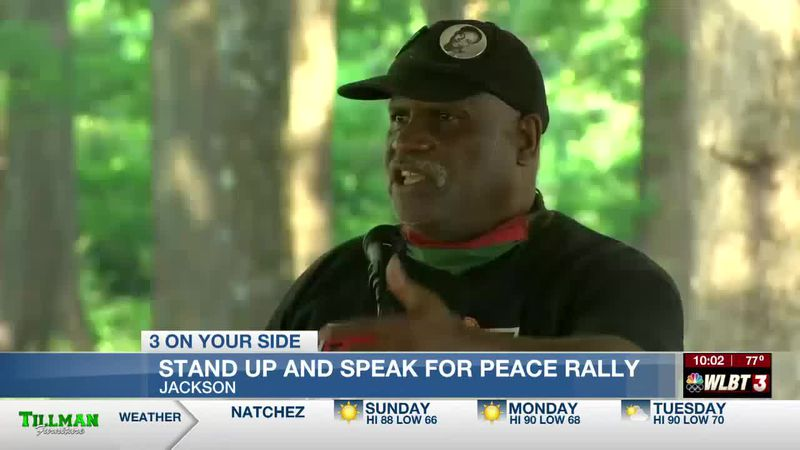 Residents gather for peace rally looking to put an end to the city's crime