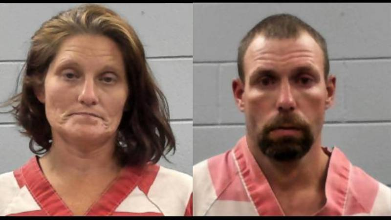 Valerie Shepard and Jacky Blackwood (right) were arrested following a police chase in Rankin...