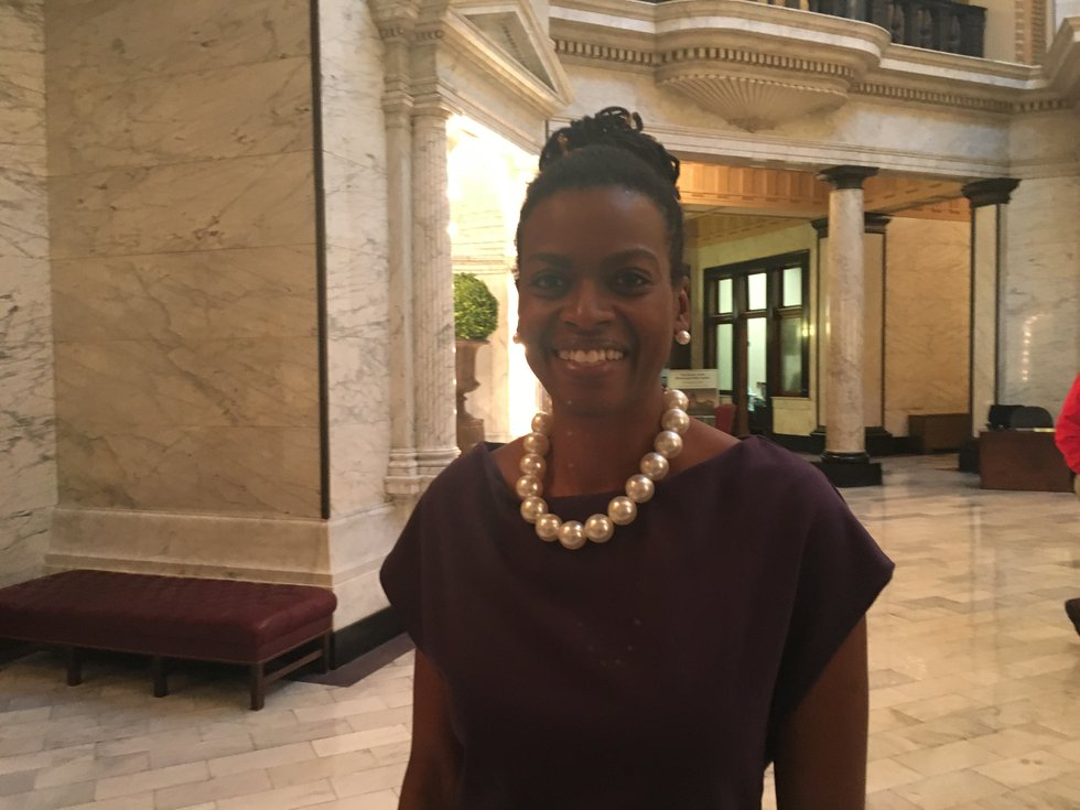 Cassandra Overton-Welchlin with MS Black Women's Roundtable addresses inequity issues with...