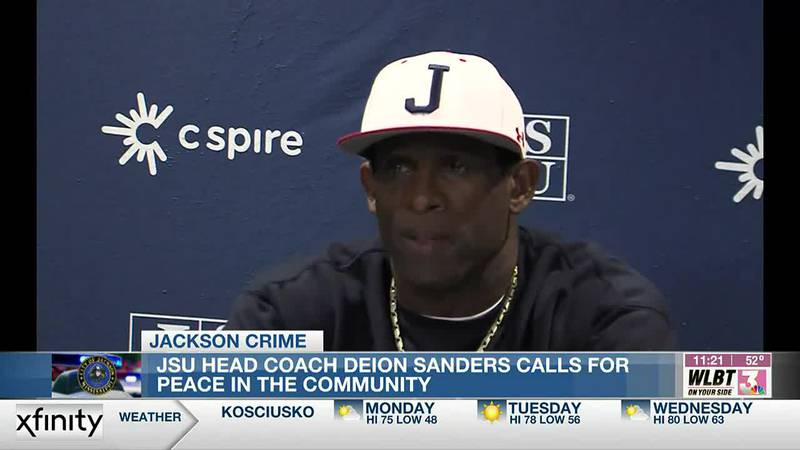 Deion Sanders 'Coach Prime' pleads with community members to help stop the violence in Jackson