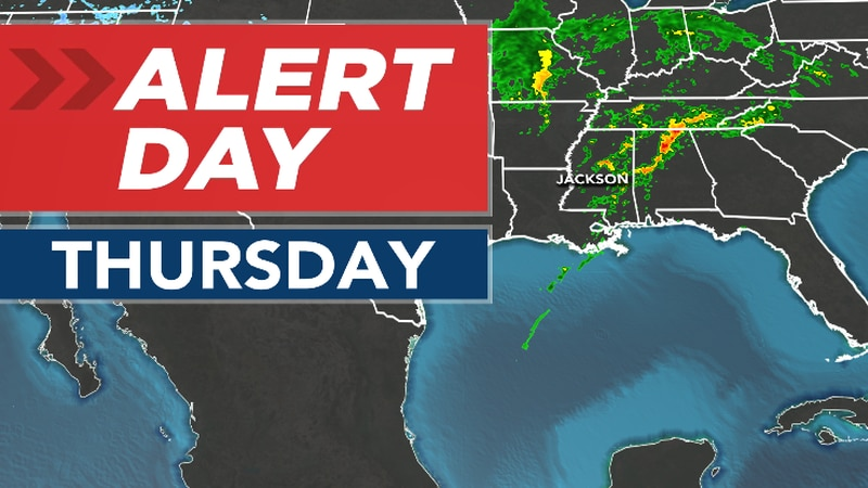 ALERT DAY In Place For Strong to Severe Storm Risk Thursday