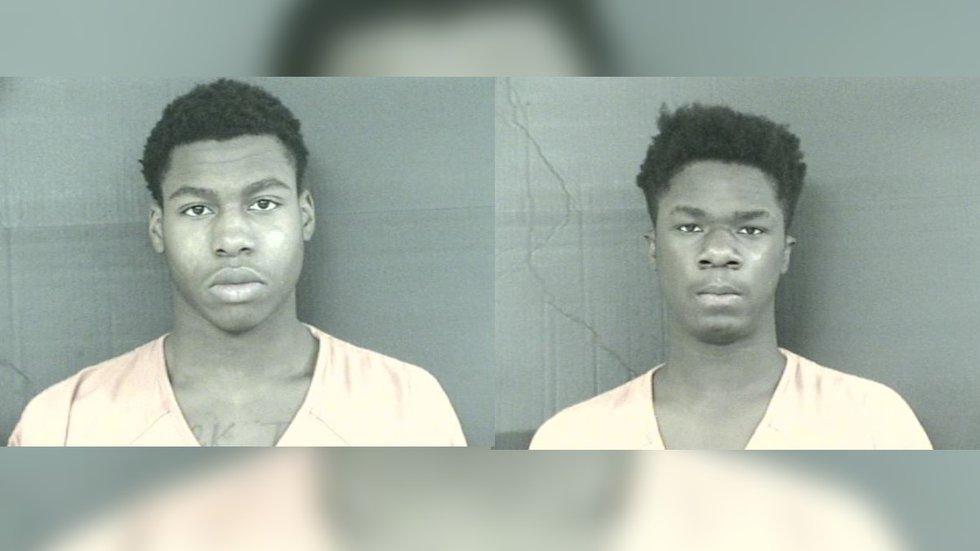 16-year-old Demetrius Lee (L), 17-year-old Kevin Harris (R)