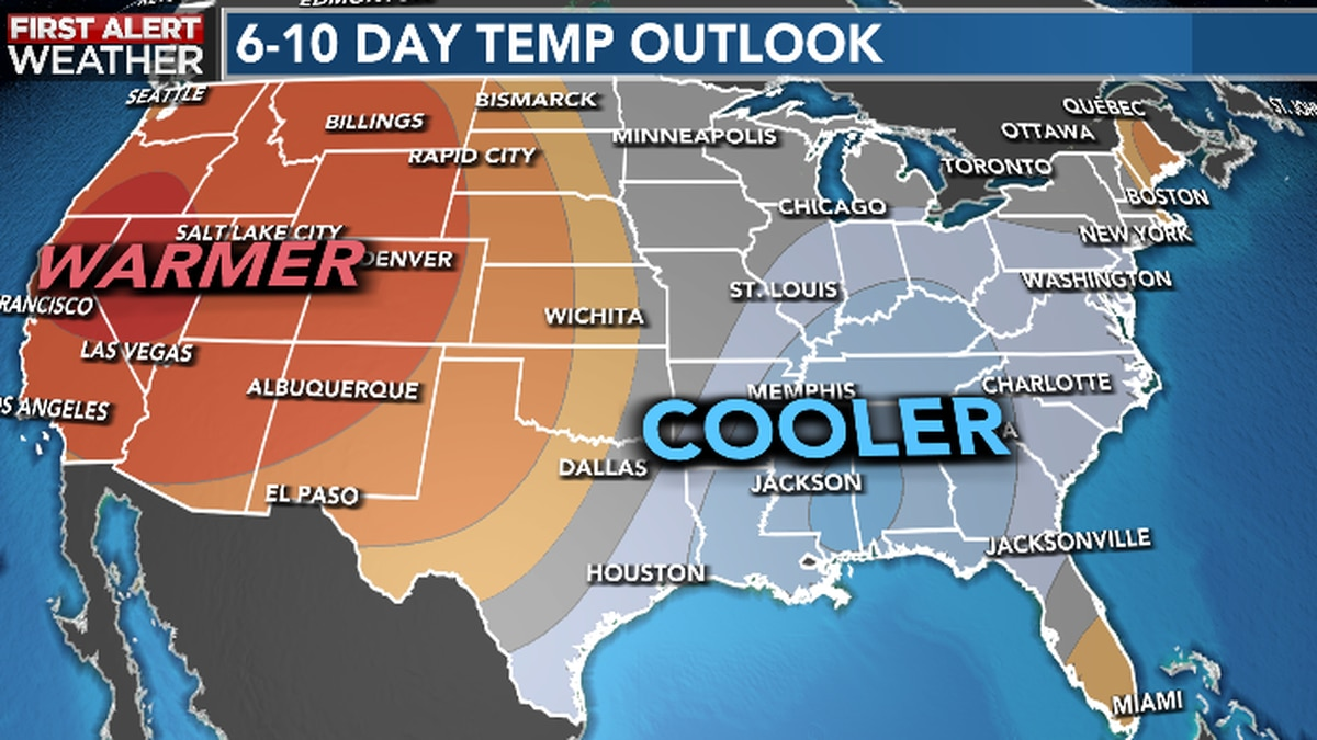 Fall like weather to arrive later this week