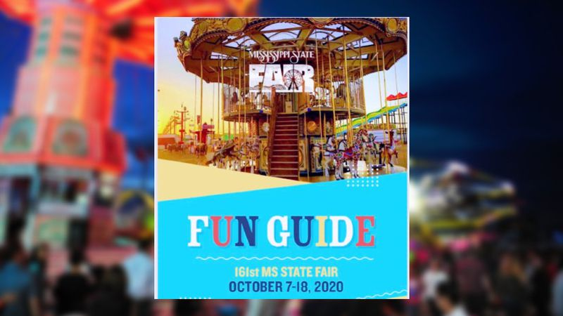 Commissioner Gipson says the Mississippi State Fair is still set to happen - social distancing...