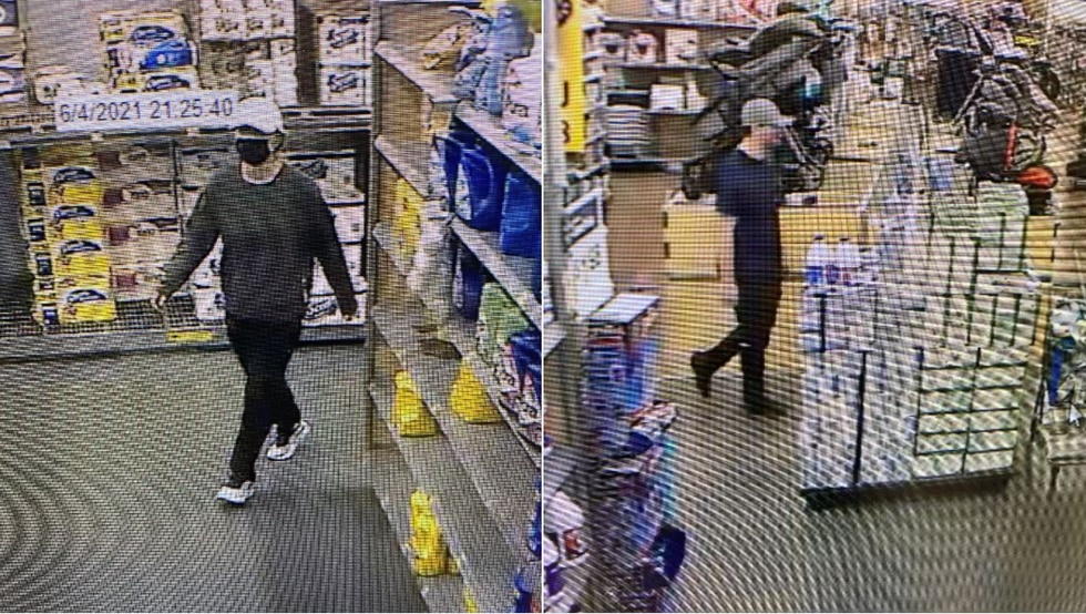 The Biloxi Police Department released descriptions of a woman (left) and a man they think might...
