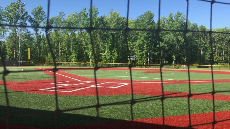 Baseball fields are now open for practice only.