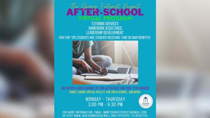Free virtual after-school program for Hinds Co. and JPS students