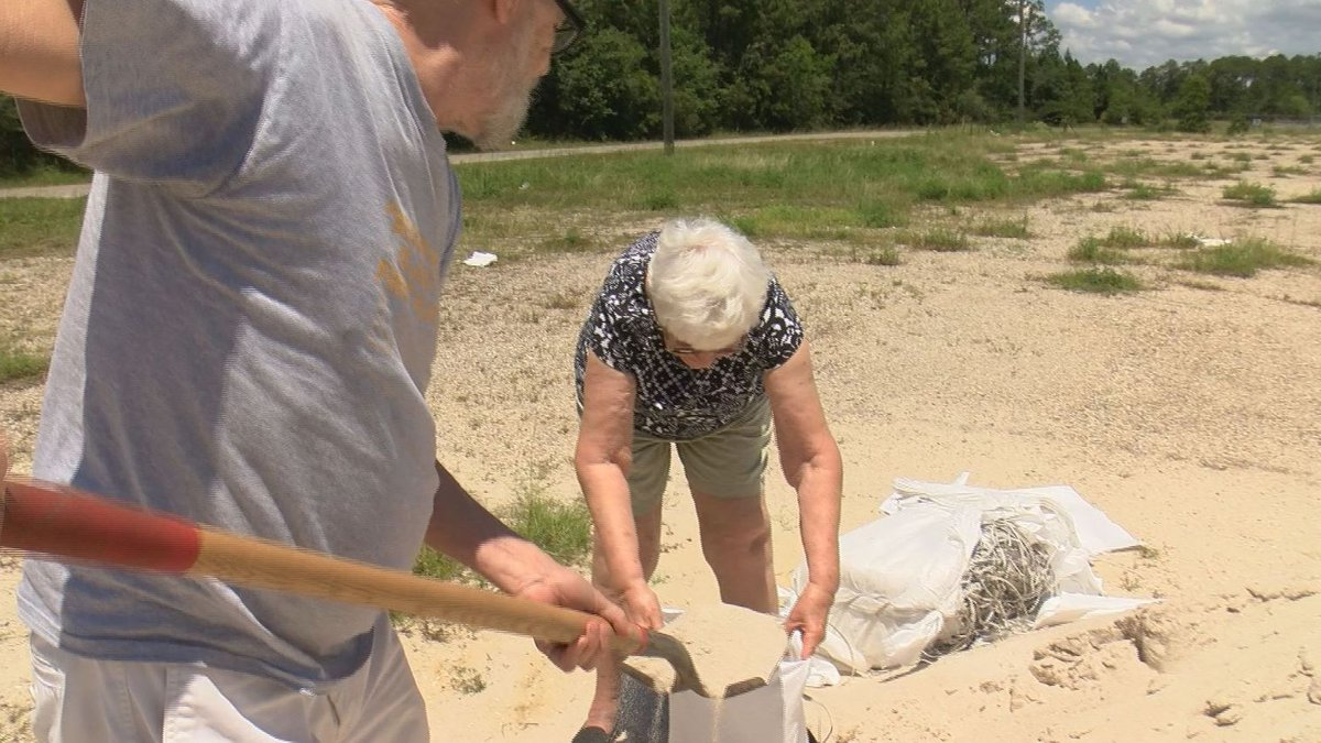Ray Reinke and Pat Lumpkin of Bay St. Louis have been through a lot of storms, but that's made...